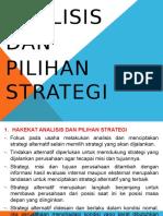 7. Analisis dan Pilihan Strategi.pptx