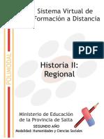 Historia Regional Tema 1