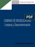 Limpieza DescontaminaciónCBS