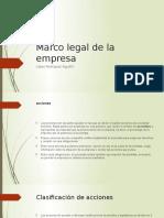 Marco Legal de La Empresa