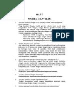 JAWABAN BAB VII Buku Perencanaan Wilayah