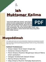 risalahmuktamarkelima-110112111516-phpapp01.ppt