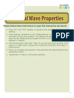 General Waves Properties-Read and Write