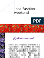 Oaxaca Fashion Weekend