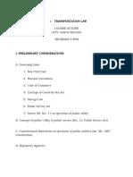 TRANSPORTATION LAW-OUTLINE.docx