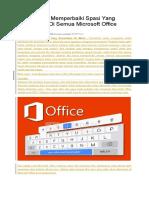 3 Solusi Jitu Memperbaiki Spasi Yang Berantakan Di Semua Microsoft Office Word