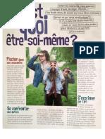 Fr c Est Quoi Ete Soit Meme .