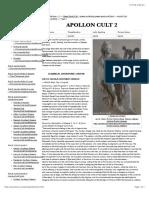 APOLLO CULT 2 - Ancient Greek Religion