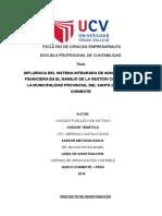 Ejemplo de Proyecto Ucv