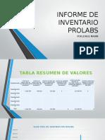 Informe de Inventario Prolabs