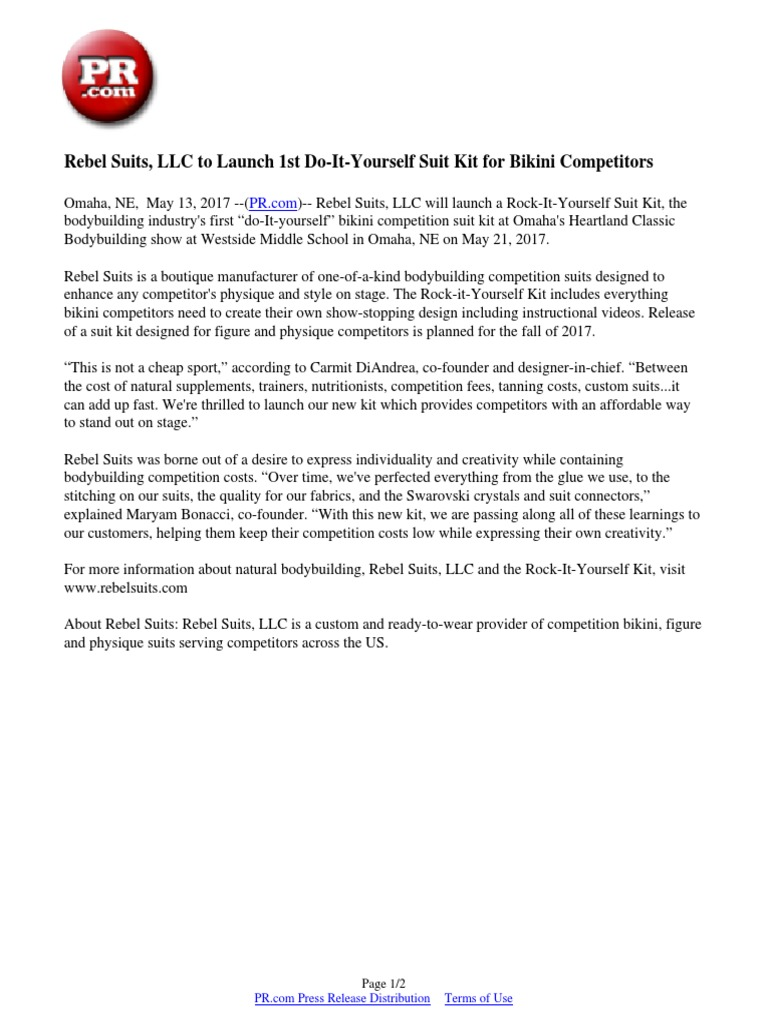 Rebel suits llc to launch 1st do it yourself suit kit for bikini rebel suits llc to launch 1st do it yourself suit kit for bikini competitors bikini business solutioingenieria Image collections