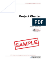 Sample Project Charter 01