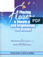 Placing Flowers and Sheets on and Brightening the Graves