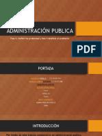 Administración Publica Fase 3 Grupal