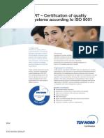 Cert Pdb en Iso 9001