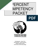 Percent Comp Packet