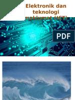 Bab 8 Elektronik Dan ICT