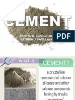 Report in Technical Analysis CEMENT