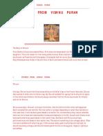Stories From Vishnu Puran