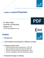 +++A_Meeting 3 Presentation - Loss of Mains Protection