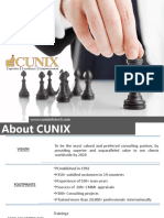 CUNIX Corporate Presentation 2017