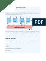 Design of Carry Lookahead Adders.docx
