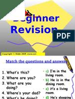 Beginner Revision