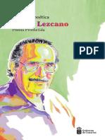 POESÍA PROMETIDA DE PEDRO LEZCANO