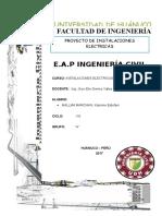 Informe Final Instalaciones