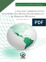 Derechos Sexuales y Reproductivos Estandares CIDH
