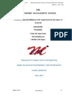 The Transport Management System