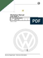 VW Workshop Manual 3 Cyl Injection Engine BMD FOX 2004