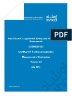 OSHAD-SF - TG - Managament of Contractors v3.0 English