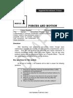 FME TG Mod 1 Forces Motion