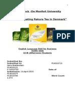 Marketing Rakura Tea
