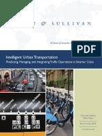 Intelligent Urban Transportation