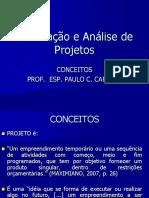 Elaboracao e Analise de Projetos - CONCE