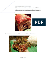 A Lechon Belly Recipe for Christmas