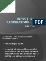 Infectiile Respiratorii La Copil
