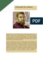 A História e Biografia de Andreas Vesalius