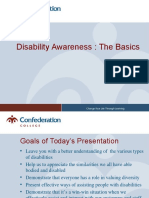Disability Awareness - The Basics
