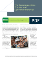 6. the Communications Process and Consumer Behavior