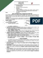 GUIA Nº 04 Determinando Las Variables Estadísticas