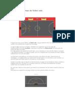 Dimensiones Campo de Fútbol Sala