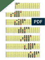 3 Note Per Corda Cromatico