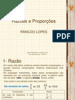 SLIDE 01 Razões e Proporções