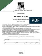 CRBio Técnico _ Auxiliar Administrativo Para Conselho Regional de Biologia _ 1ª Região