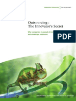 Outsourcing the Innovator s Secret