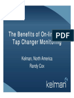 The Benefits of on-line DGA Tap Changer Monitoring