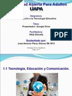 Tecnologia Educativa - Maria Esperanza